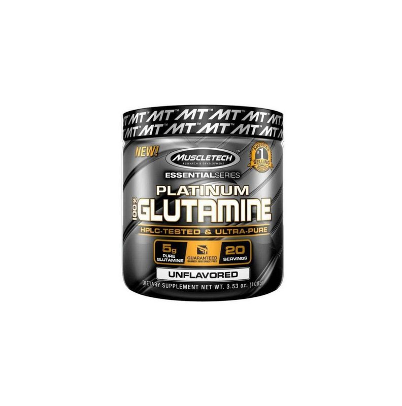 Platinum 100% Glutamina 100g - MuscleTech