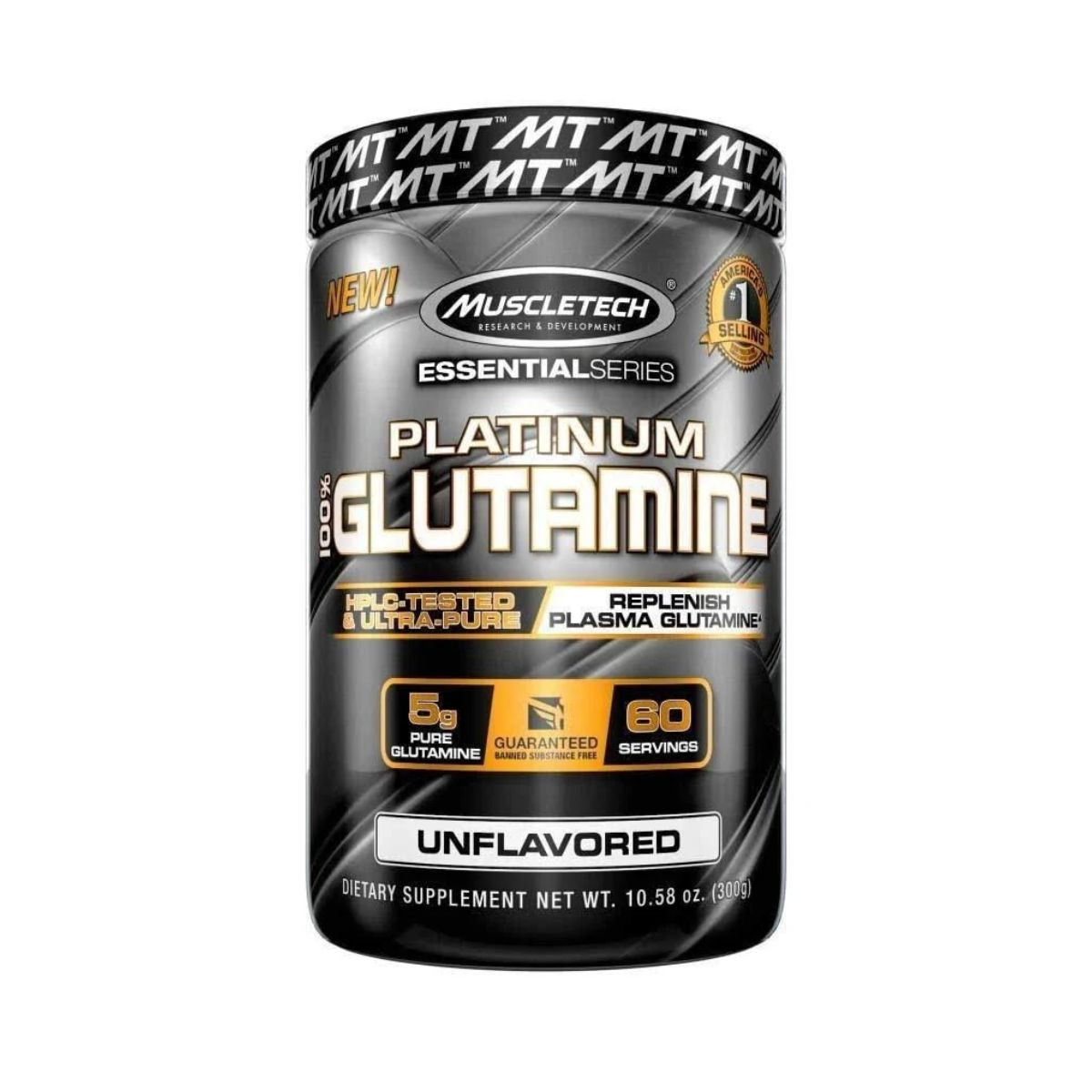 Platinum 100% Glutamina 300g - MuscleTech