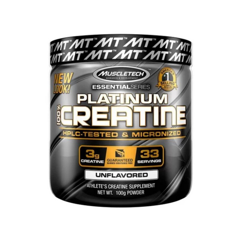 Platinum Creatine 100g - MuscleTech