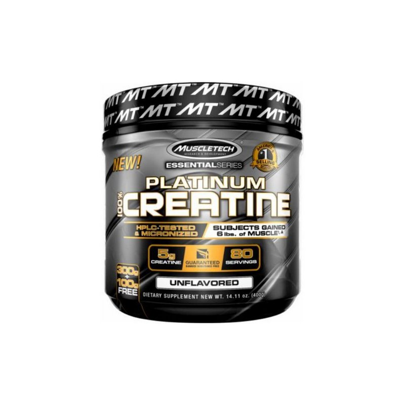 Platinum Creatine 400 Mg- MuscleTech