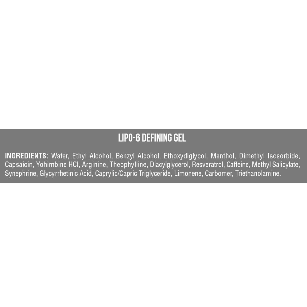Pomada Termogênica Lipo 6 Gel Bastão + Cinta Modeladora - Nutrex