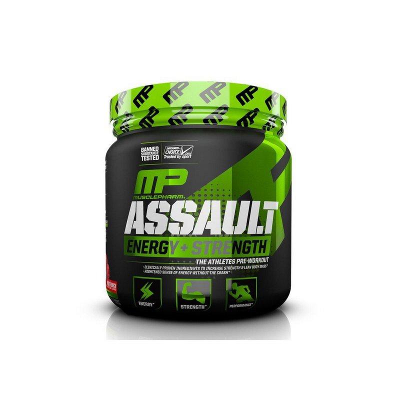Pré-Treino Assault 30 Doses Novo - MusclePharm