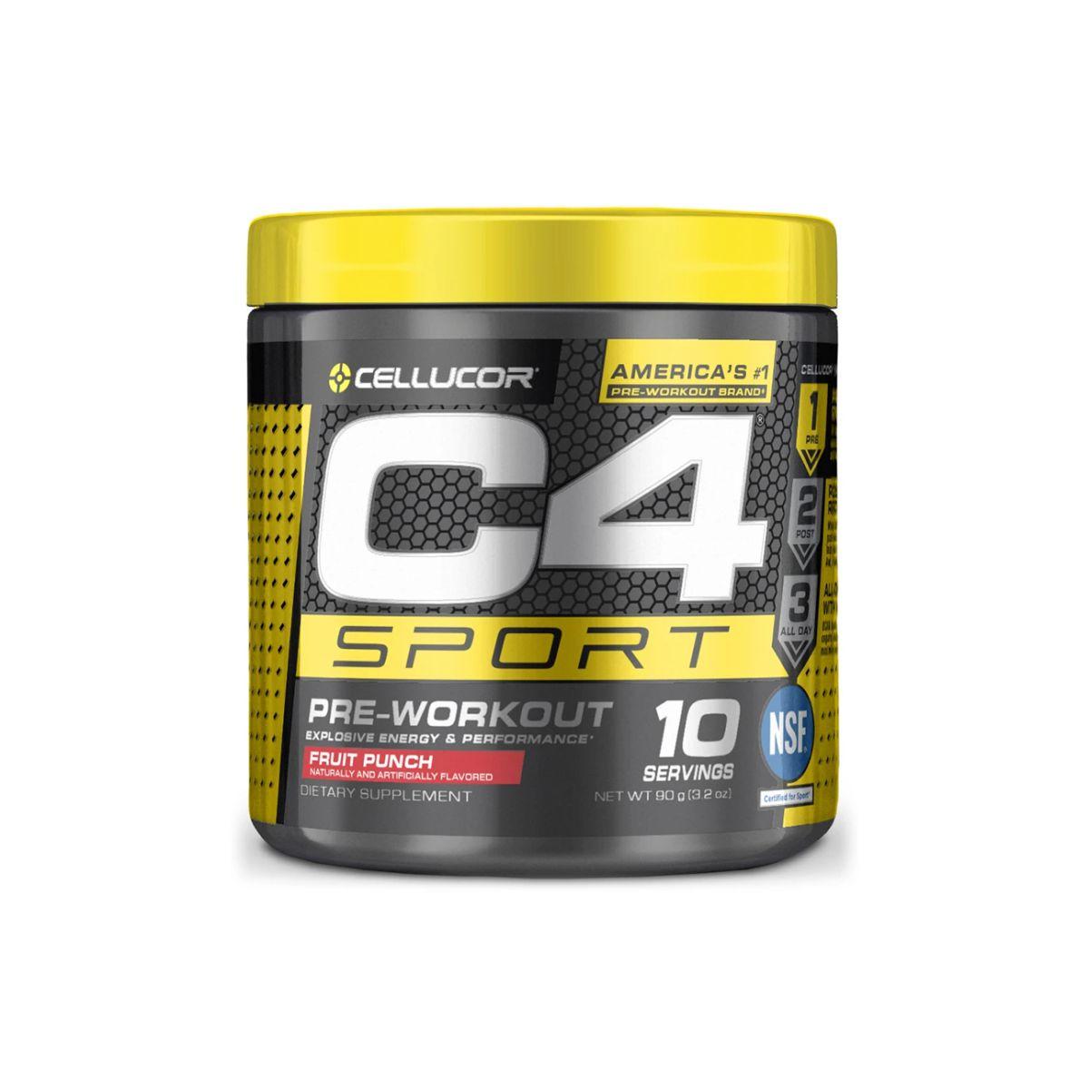 Pré-Treino C4 Sport 30 Doses - Cellucor