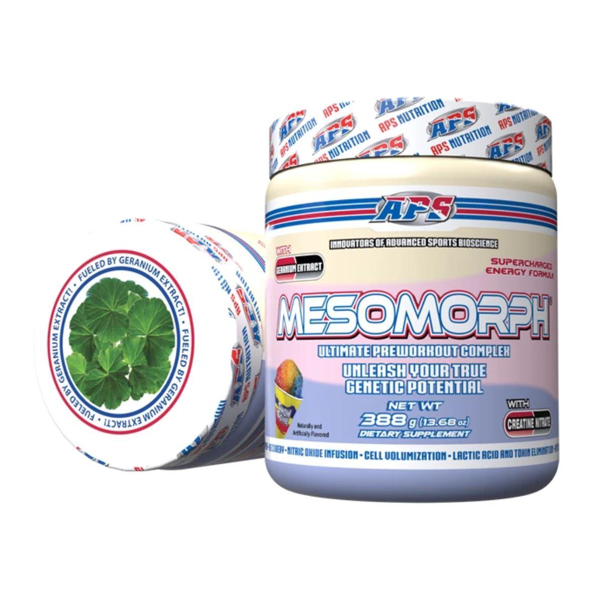 Pré-Treino  Mesomorph 388g Novo - APS