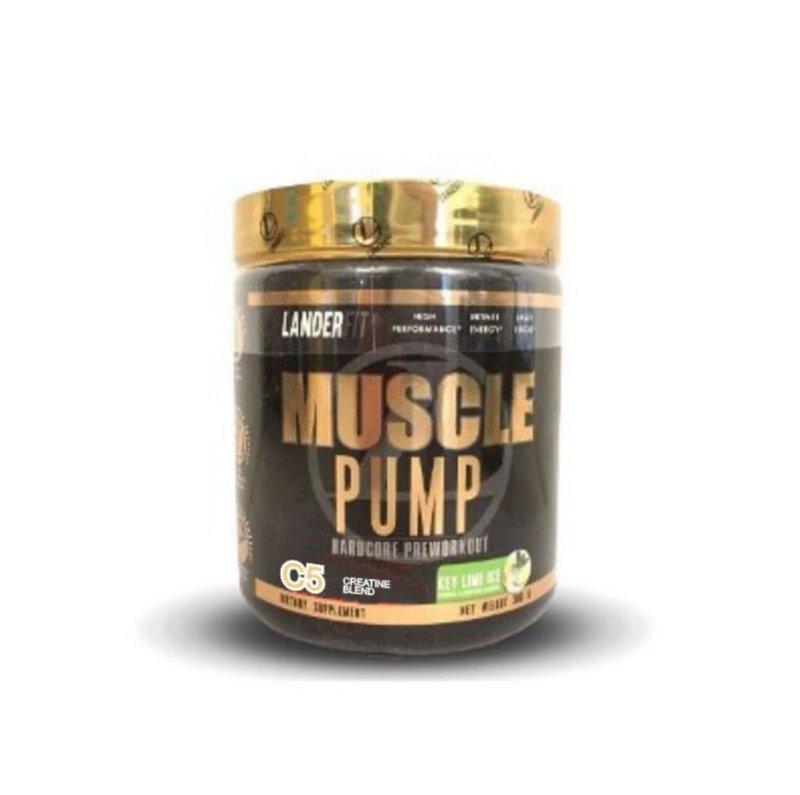 Pré-Treino Muscle Pump C5 300g - Landerfit