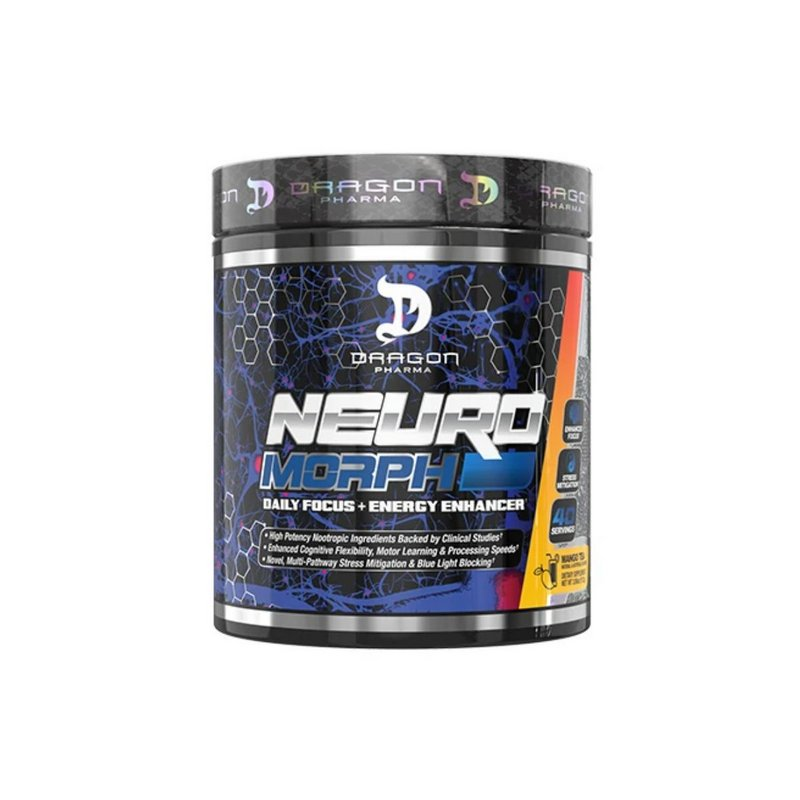 Pré-Treino Neuro Morph 112g 40 Doses - Dragon Pharma