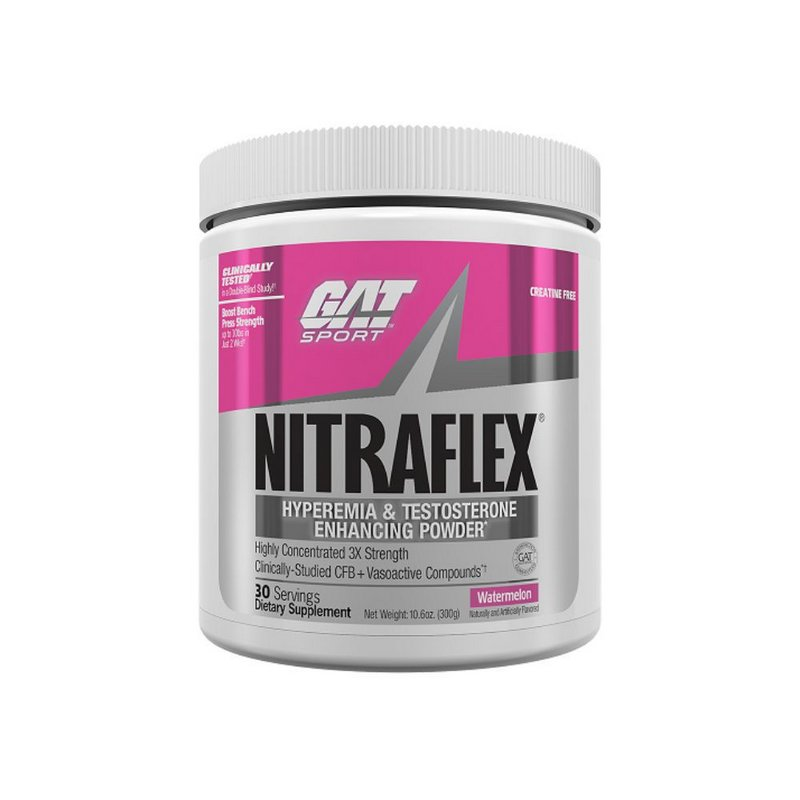 Pré-Treino Nitraflex 30 Doses - Gat
