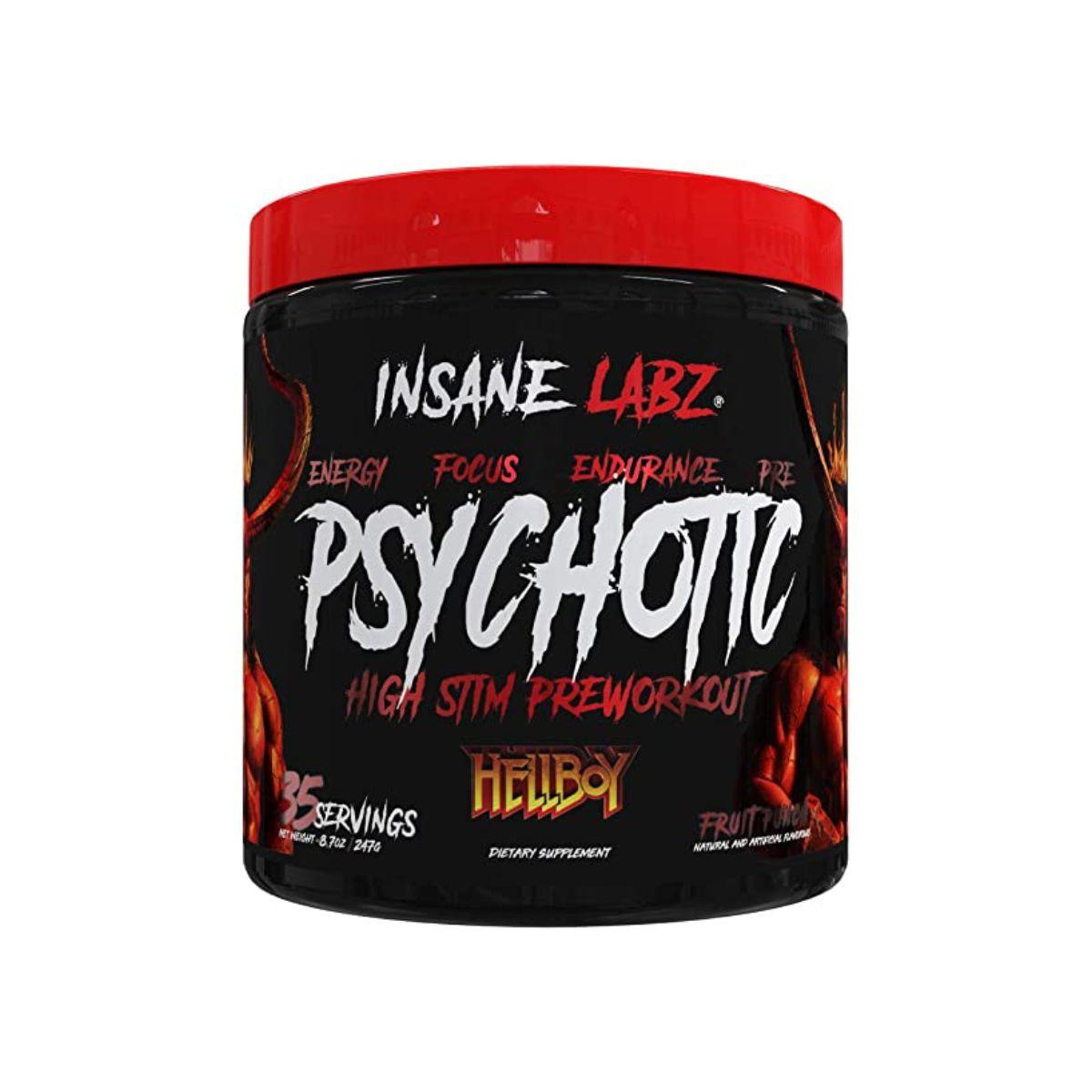 Pré-Treino Psychotic HellBoy 35 doses Importado - Insane Labz