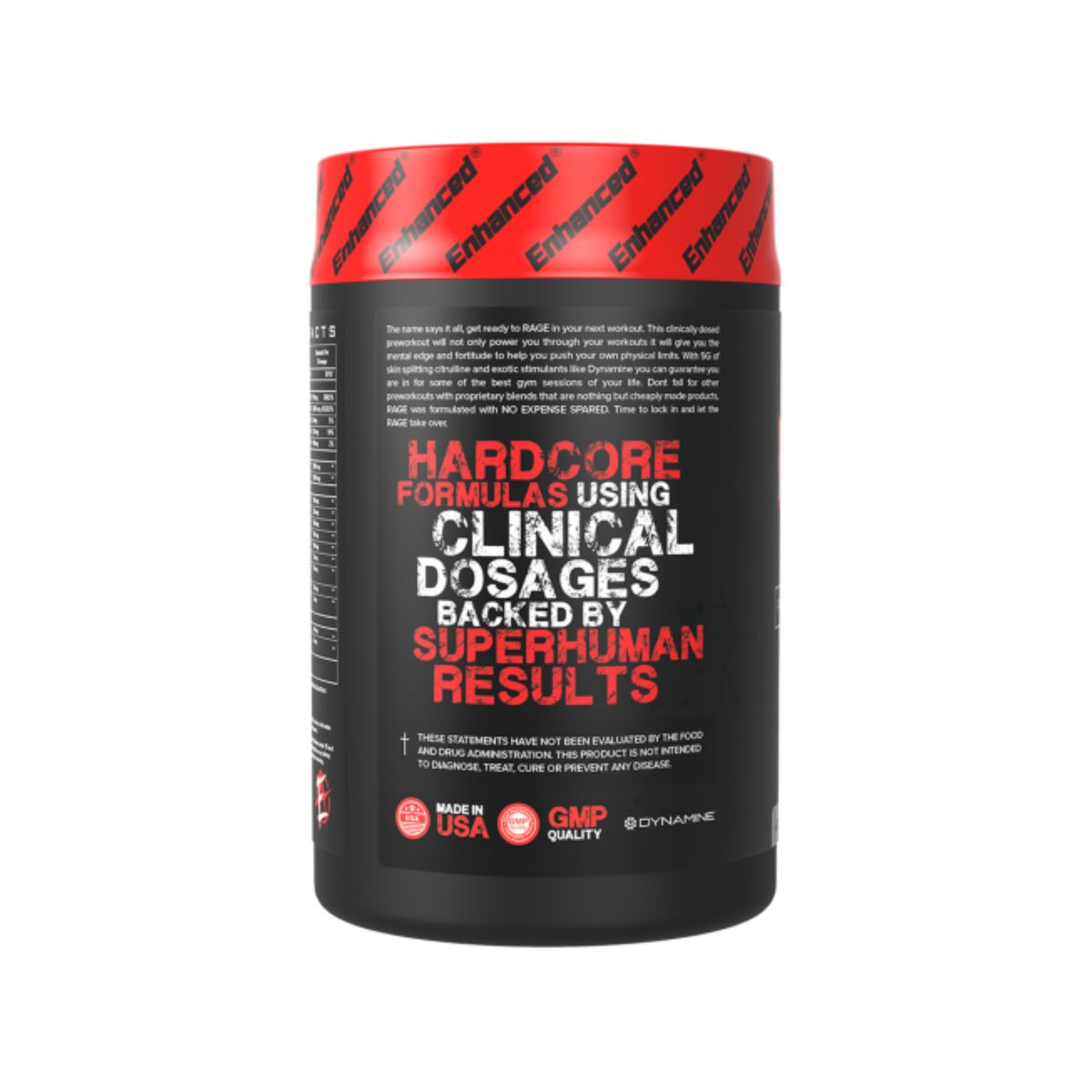Pré-Treino Rage Stim Reloaded 60 Doses - Enhanced Athlete