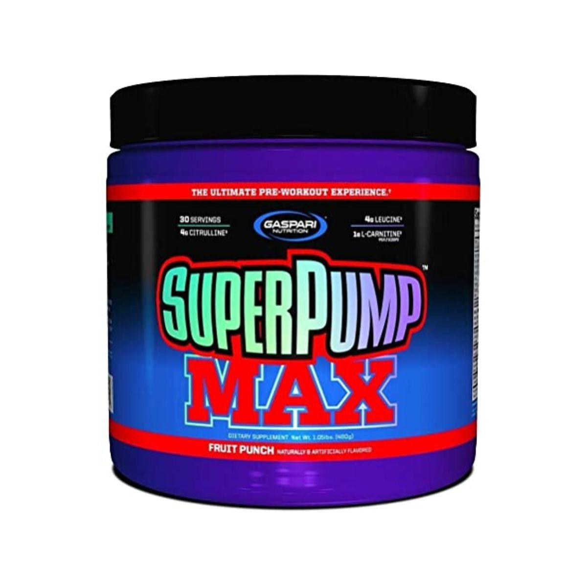 Pré-Treino  SuperPump Max 480g 30 Doses - Gaspari Nutrition