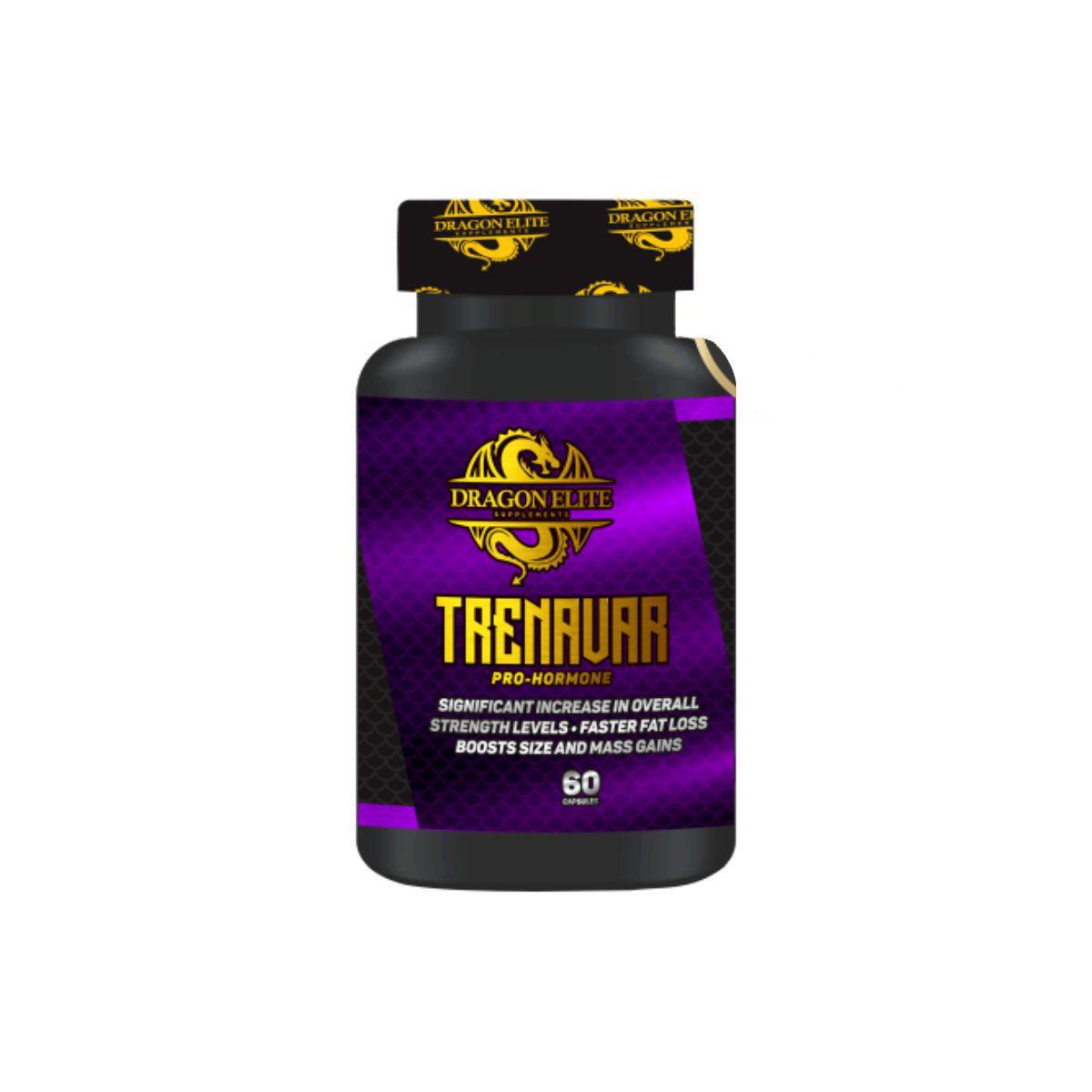 Pró-Hormonal Trenavar 25mg 60 capsulas - Dragon Elite