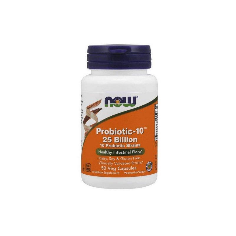 Probiotic - 10 (25 Billion)  50 Caps - Now Foods