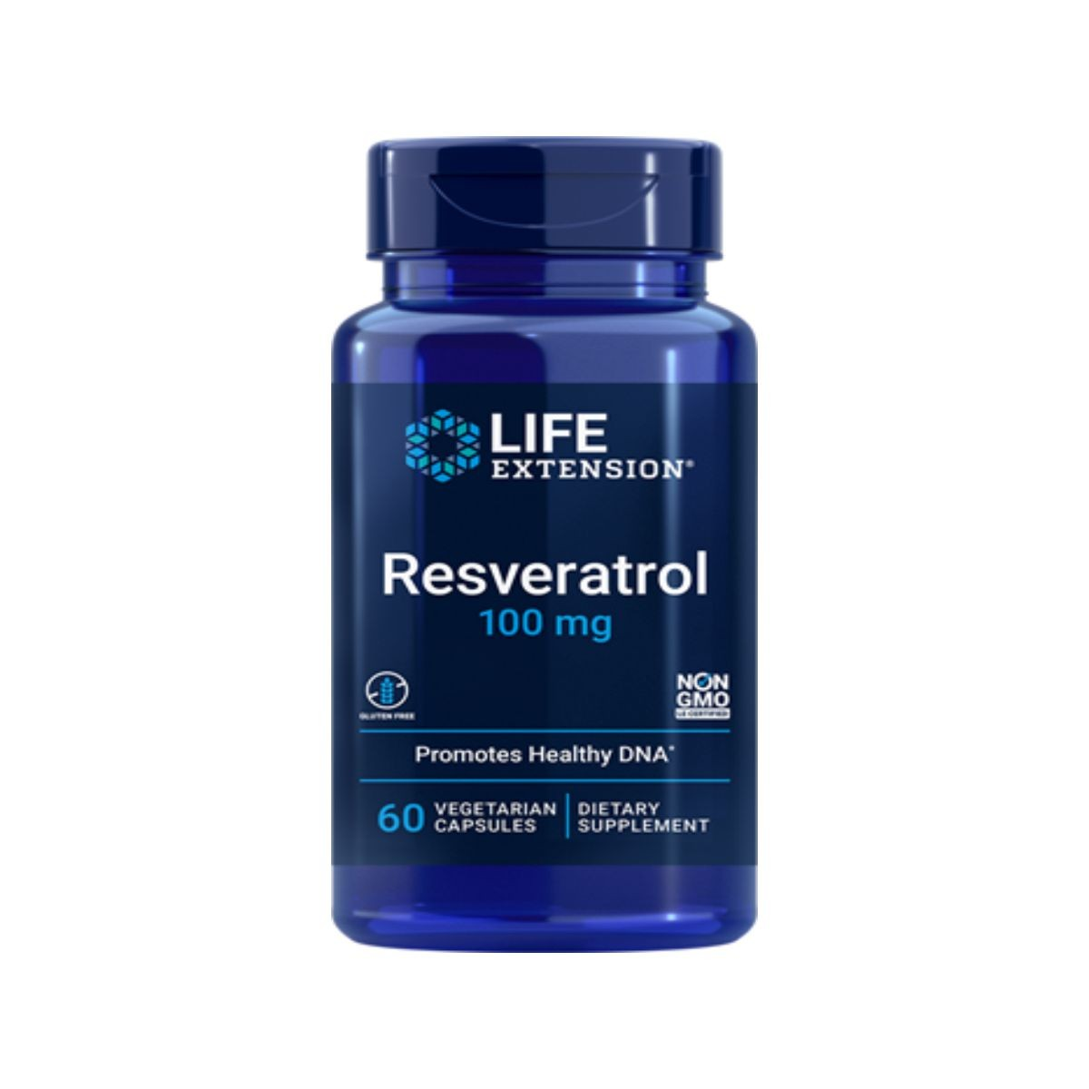 Resveratrol 100mg 60Caps - Life Extension