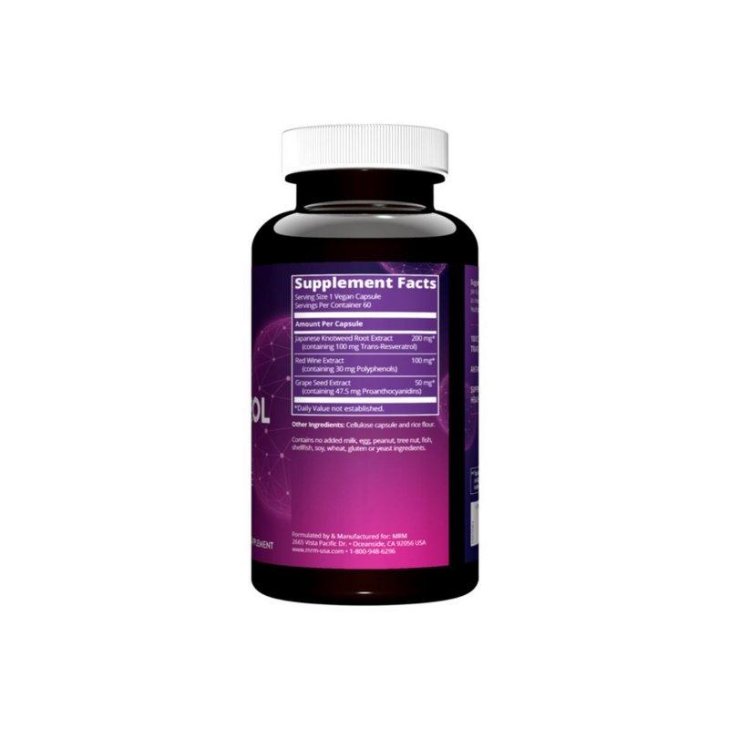Resveratrol MRM 200mg 60 Caps  - MRM