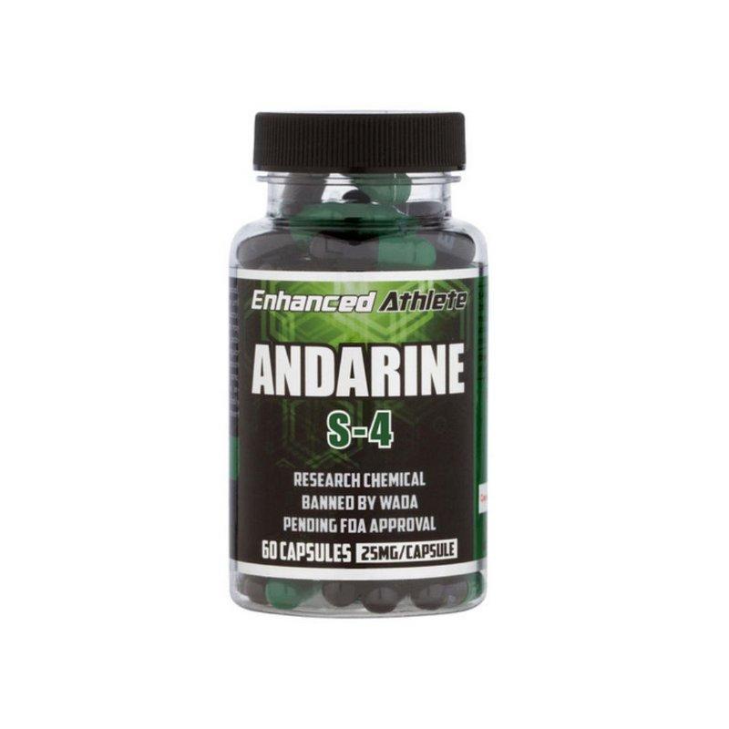 Sarm Andarine S4 25mg 60 Caps - Enhanced Athlete