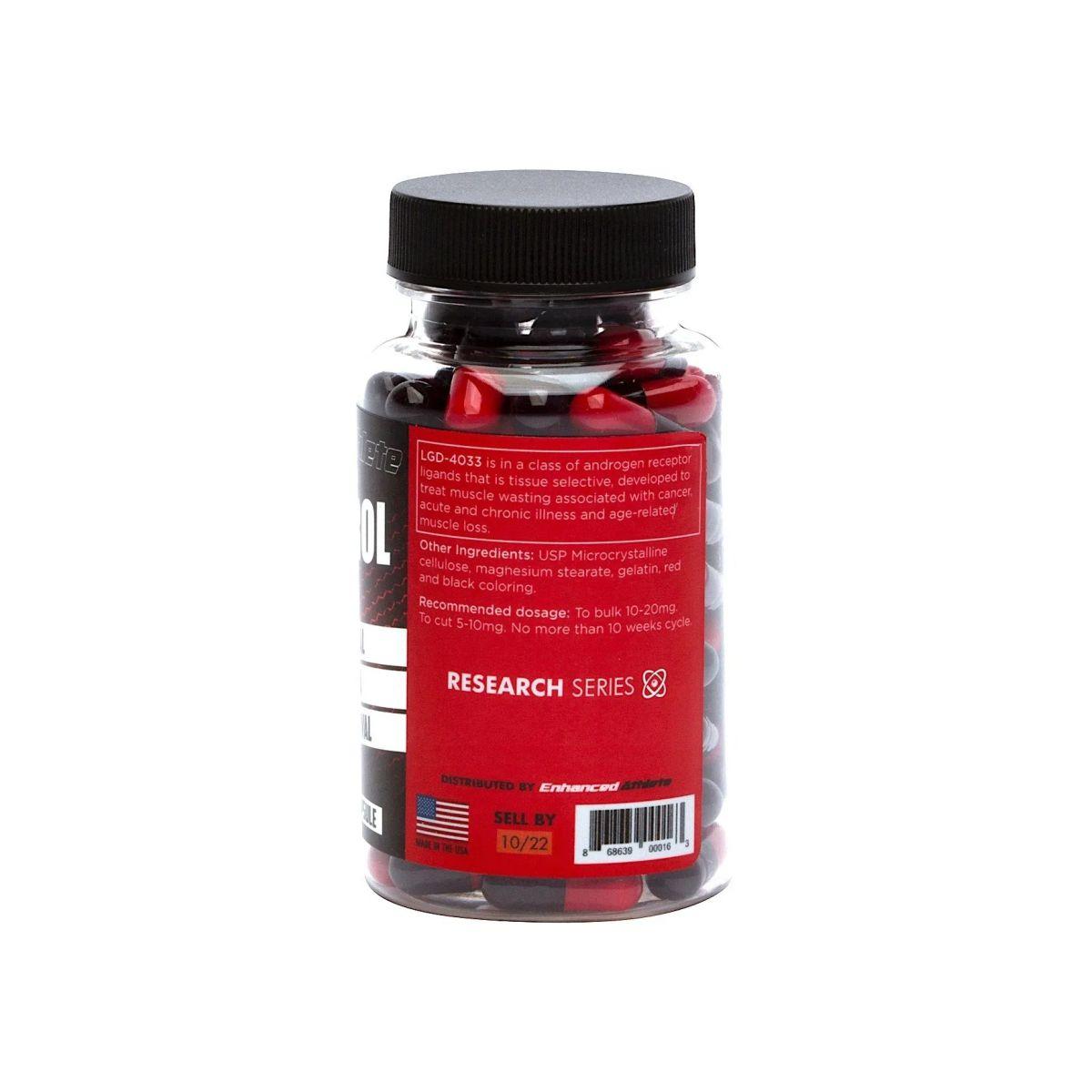 Sarm Ligandrol LGD-4033 5mg 60 Caps - Enhanced Athlete