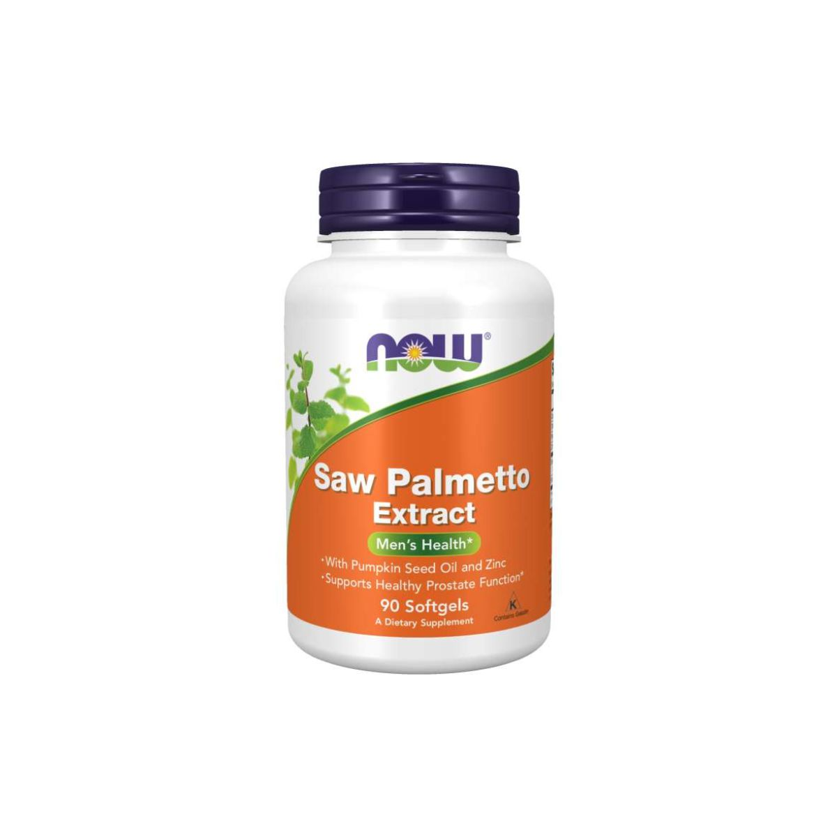 Saw Palmetto Extract 90 Caps - Now Foods