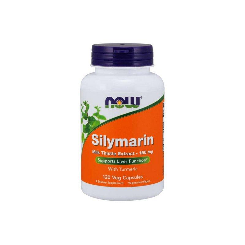 Silymarin Milk Thistle Extract 150mg 120 Cápsulas Vegetarianas - Now Foods