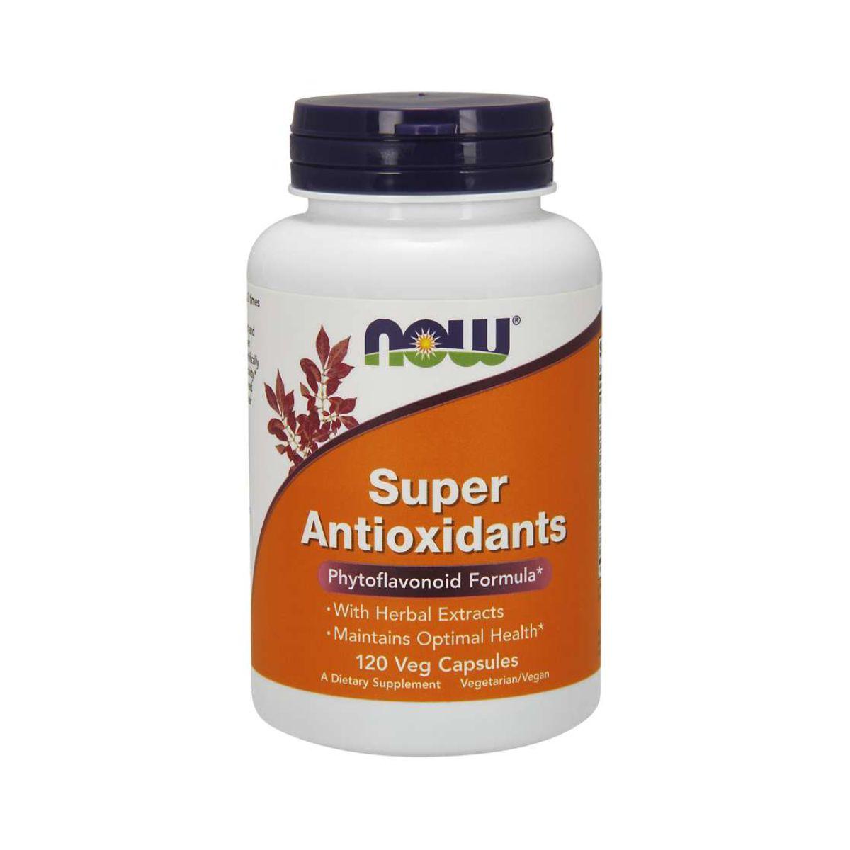 Super Antioxidantes 120Caps - Now Foods