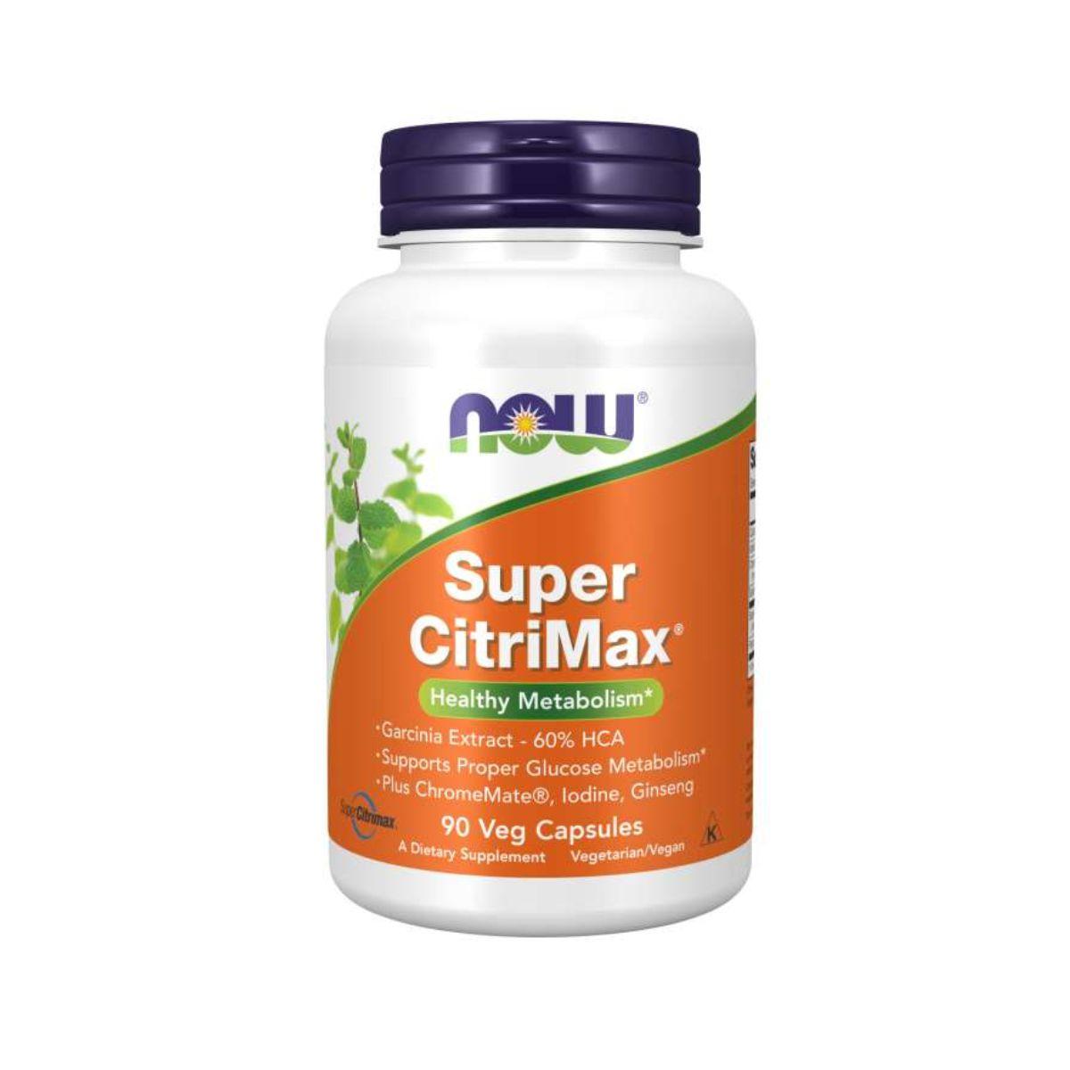Super Citrimax Healt Metabolism 90Caps - Now Foods