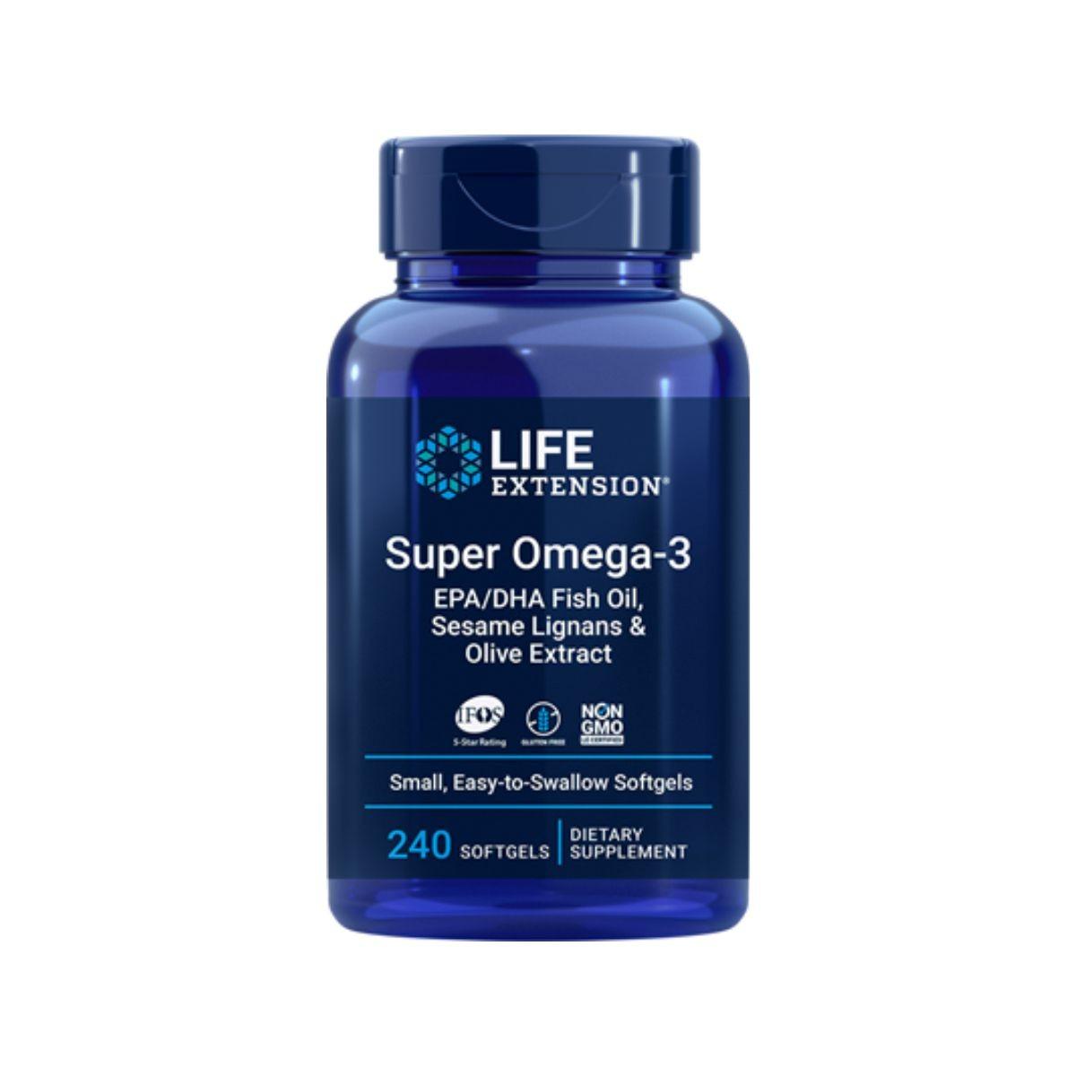 Super Omega EPA/DHA 240 Caps - Life Extension