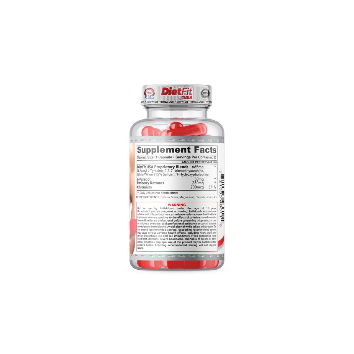 Termogênico DietFit DietCut 3 em 1 - 25 Caps