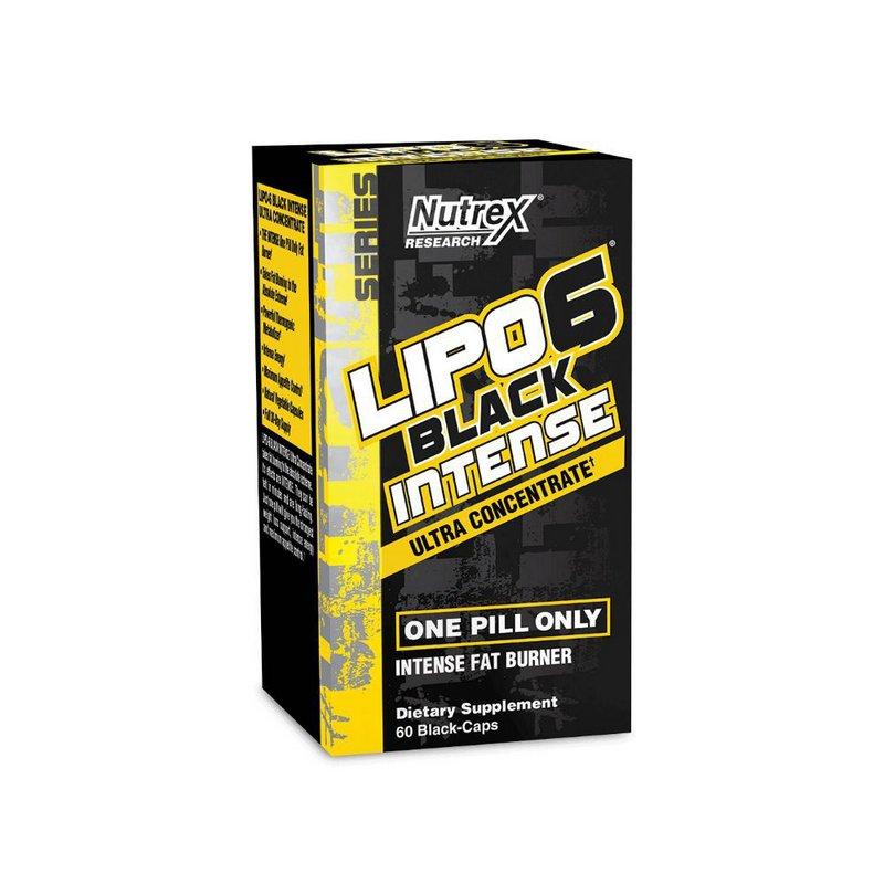 Termogênico Lipo 6 Black Intense Ultra Concentrado 60 Caps -  Nutrex