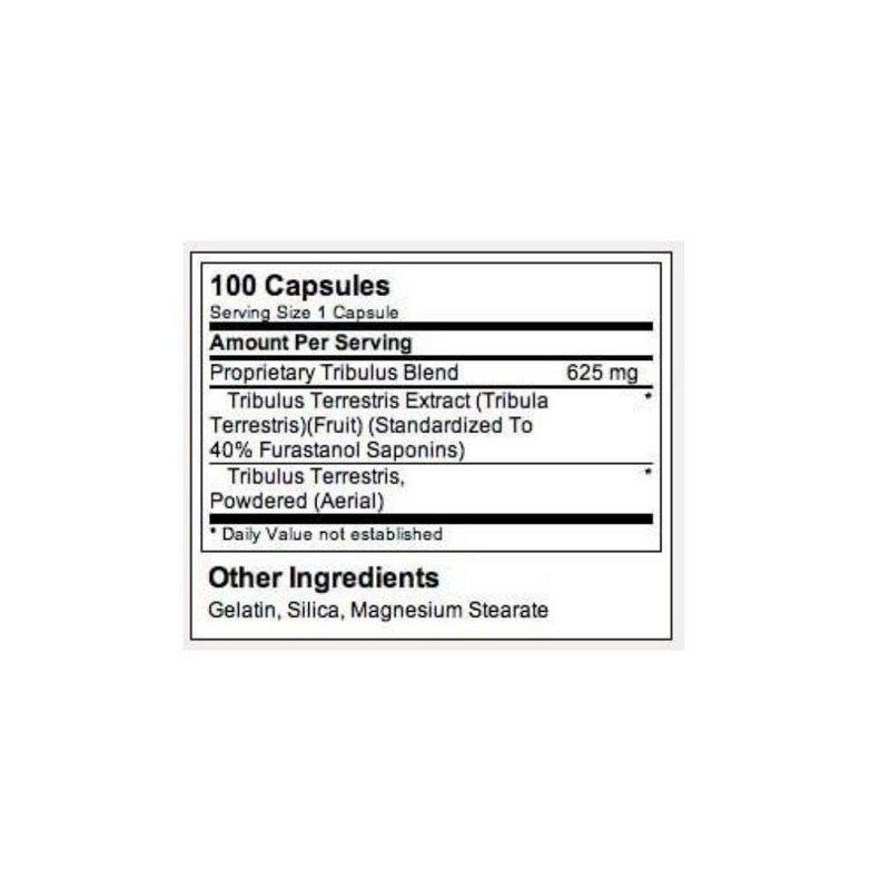 Tribulus 625mg 100 Caps - Optimun Nutrition