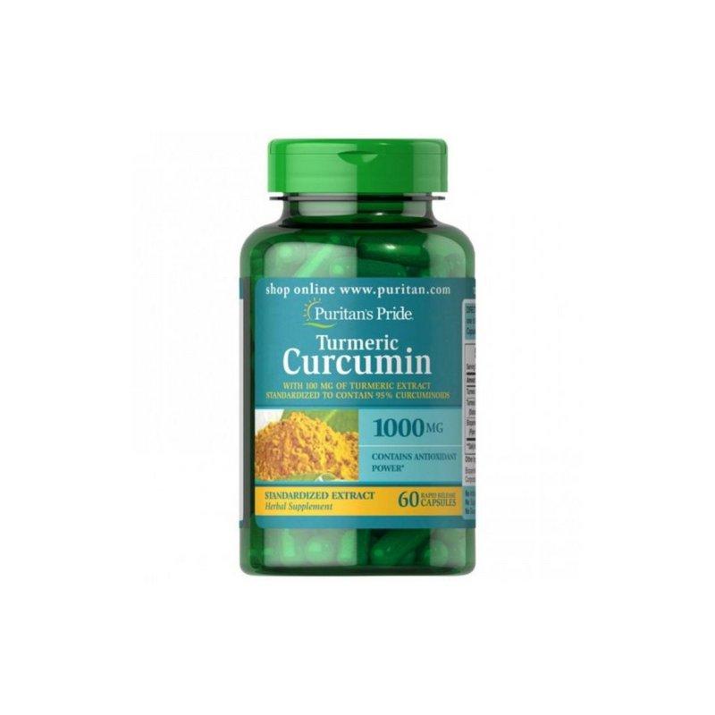 Turmeric Curcumin 1000mg 60 Caps - Puritans Pride