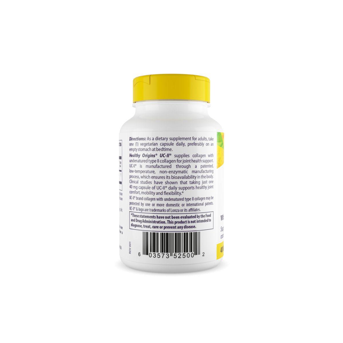 UC-II Colágeno 60 Caps - Healthy Origins