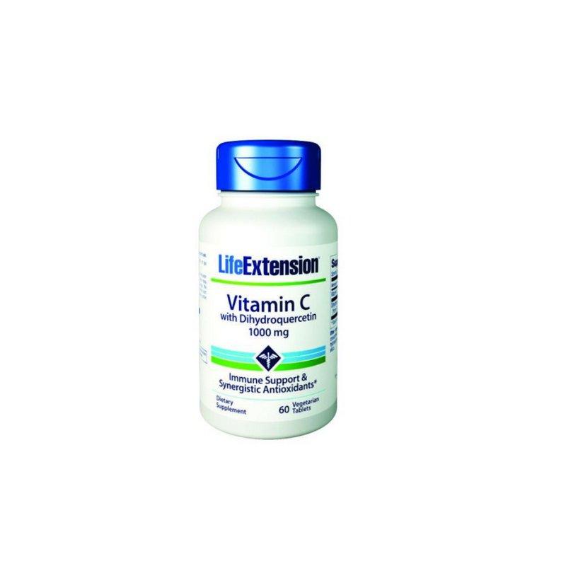 Vitamina C 1000mg 60Caps - Life Extension