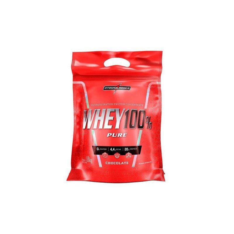 Whey Protein 100% Pure 1,8 Kg - IntegralMédica