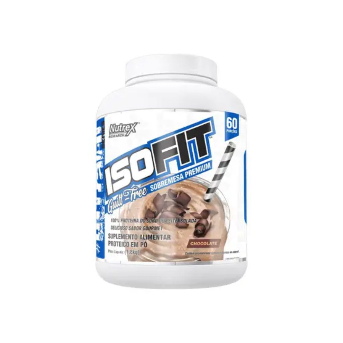 Whey Protein Isolado IsoFit 1,8kg - Nutrex