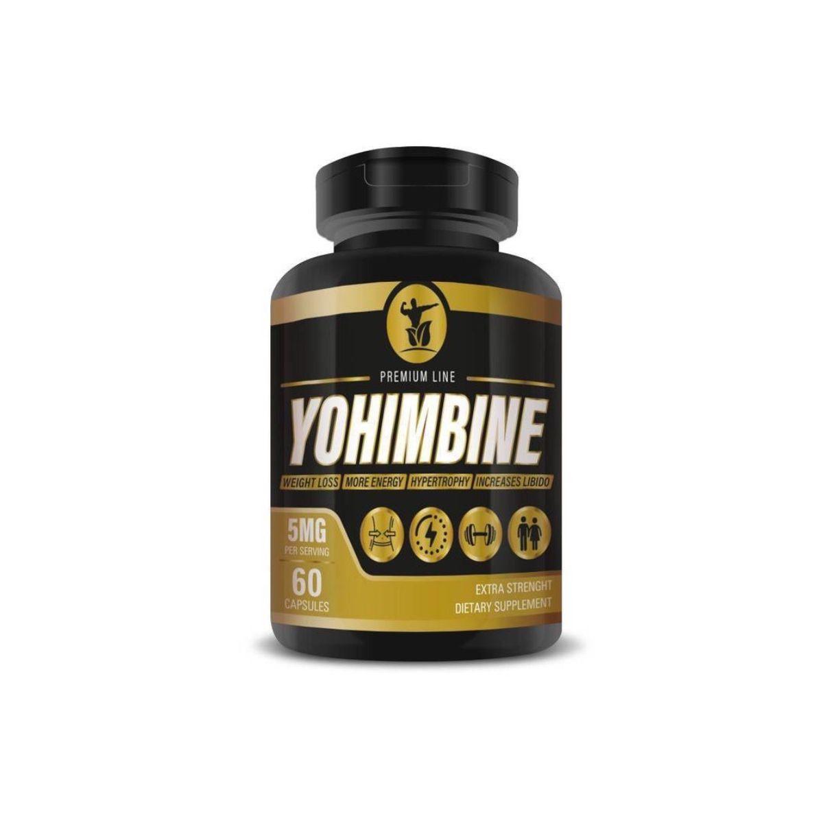 Yohimbine 5mg 60 Caps - Premium Line