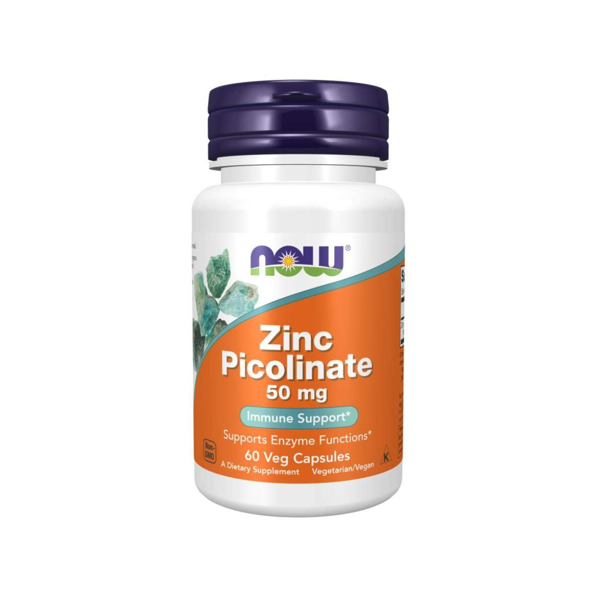 Zinc Picolinate 50mg Immune Support 60Caps - Now Foods