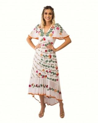 Vestido Fê Palazzo 21309 Fada