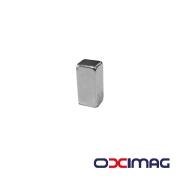 Ímã de Neodímio Bloco - 12 X 6 X 5  mm - N50