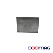 Ímã de Neodímio Bloco - 46 X 32 X 8  mm - N45 - SEM BANHO