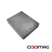 Ímã de Neodímio Bloco - 55 X 43 X 10  mm - N45 - SEM BANHO
