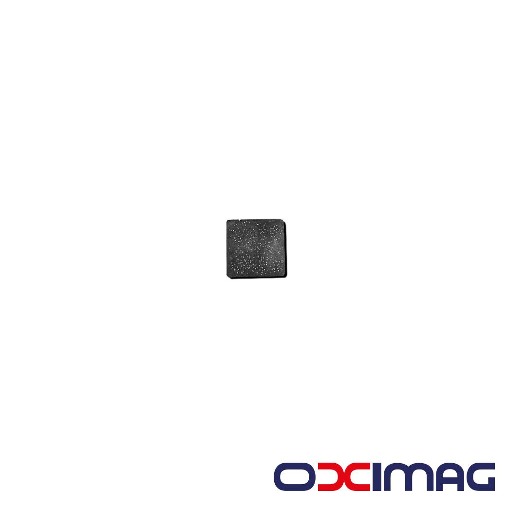 Ímã de Neodímio Bloco - 10 X 10 X 0,5 mm - N35