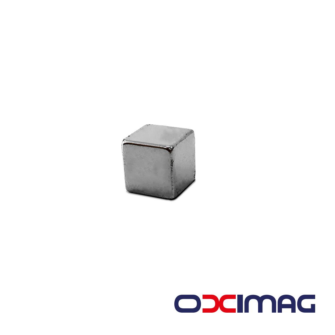 Ímã de Neodímio Bloco - 12 X 12 X 12 mm - N35