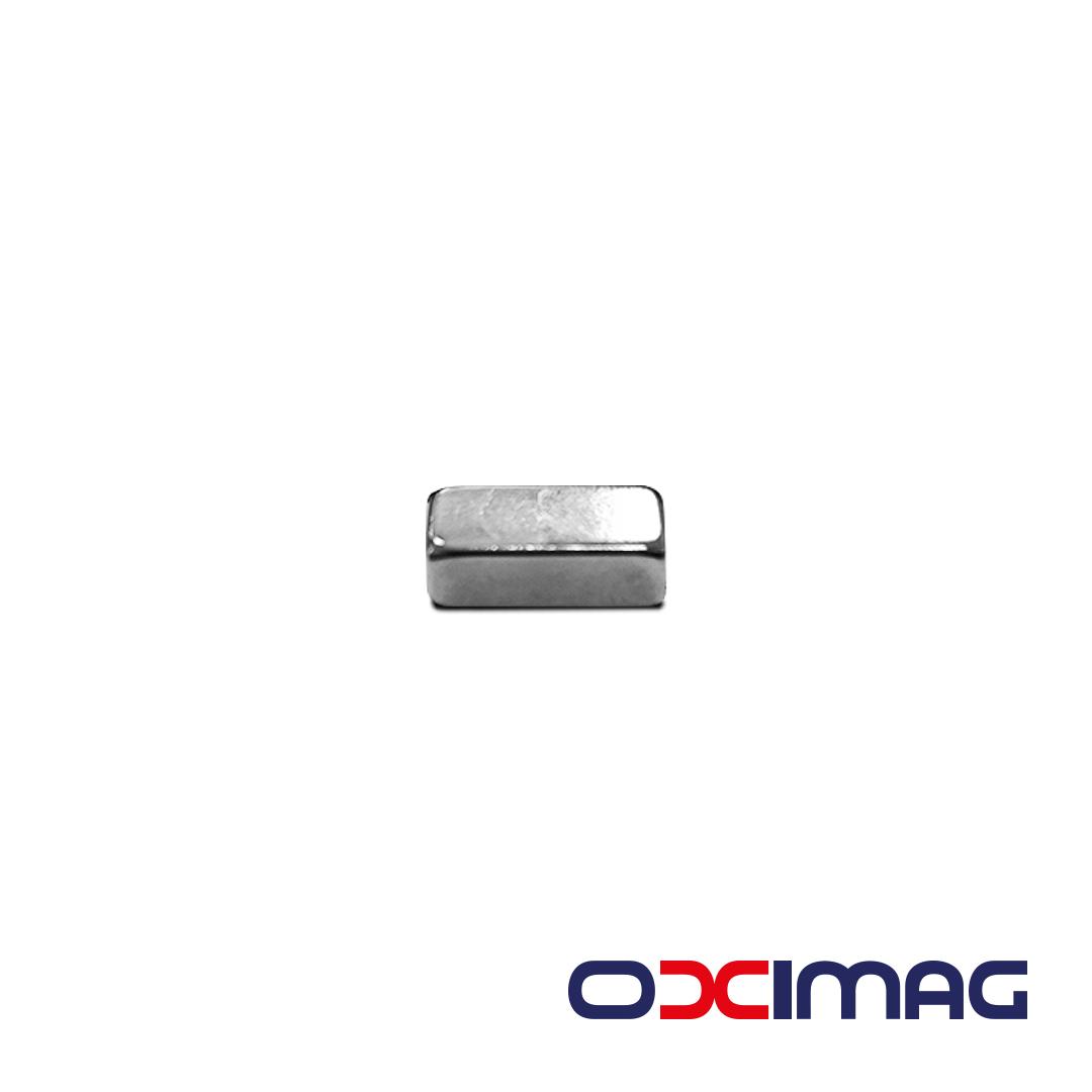Ímã de Neodímio Bloco - 12 X 6 X 4  mm - N50