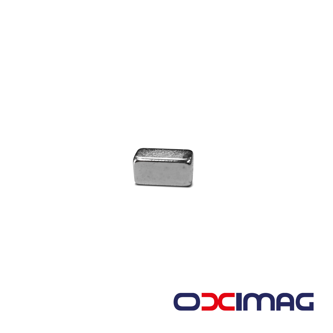Ímã de Neodímio Bloco - 12 X 6 X 5 mm - N35