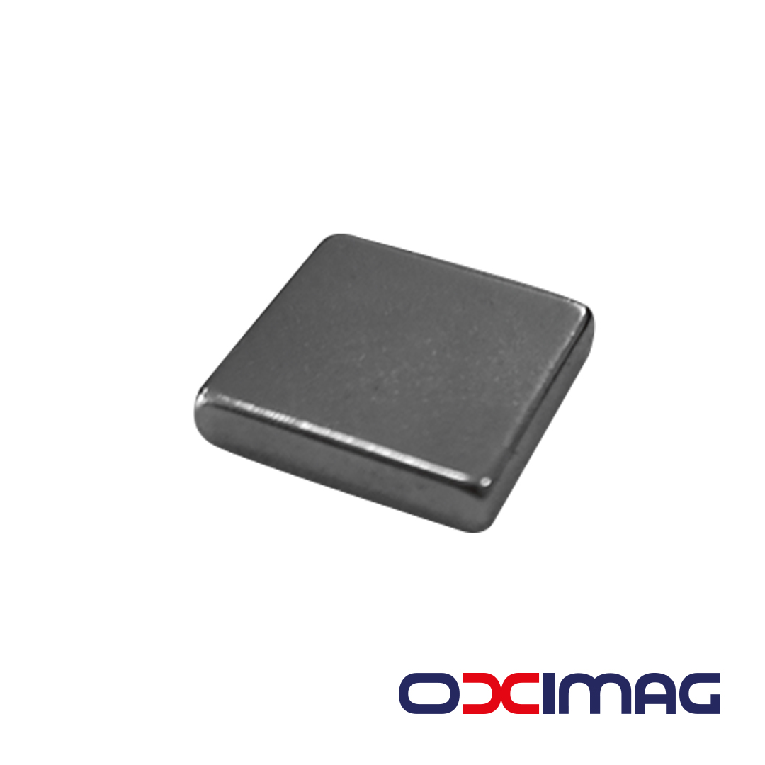 Ímã de Neodímio Bloco - 14 X 14 X 3 mm - N35
