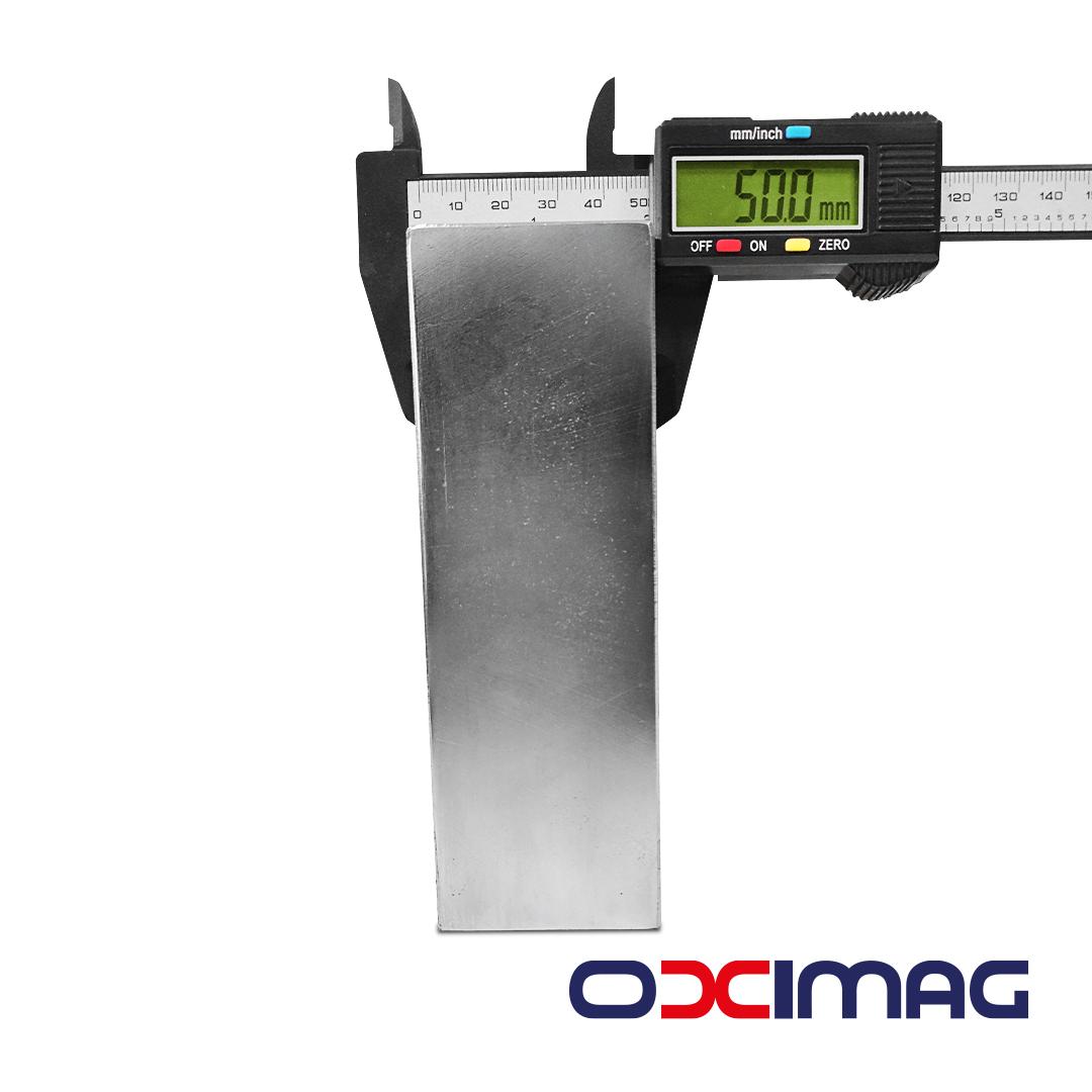 Ímã de Neodímio Bloco - 150 X 50 X 50 mm - N35