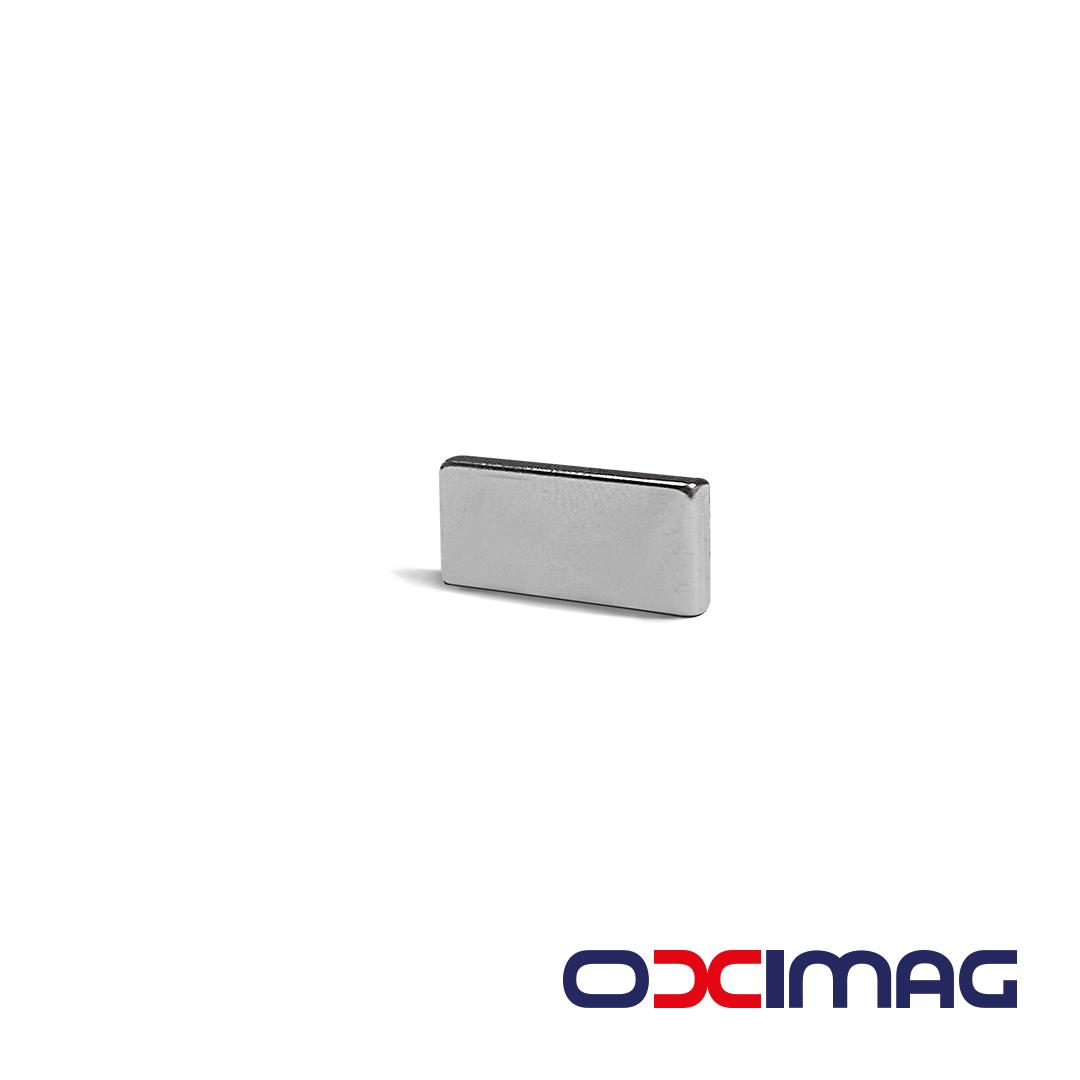 Ímã de Neodímio Bloco - 15 X 6 X 2 mm - N52