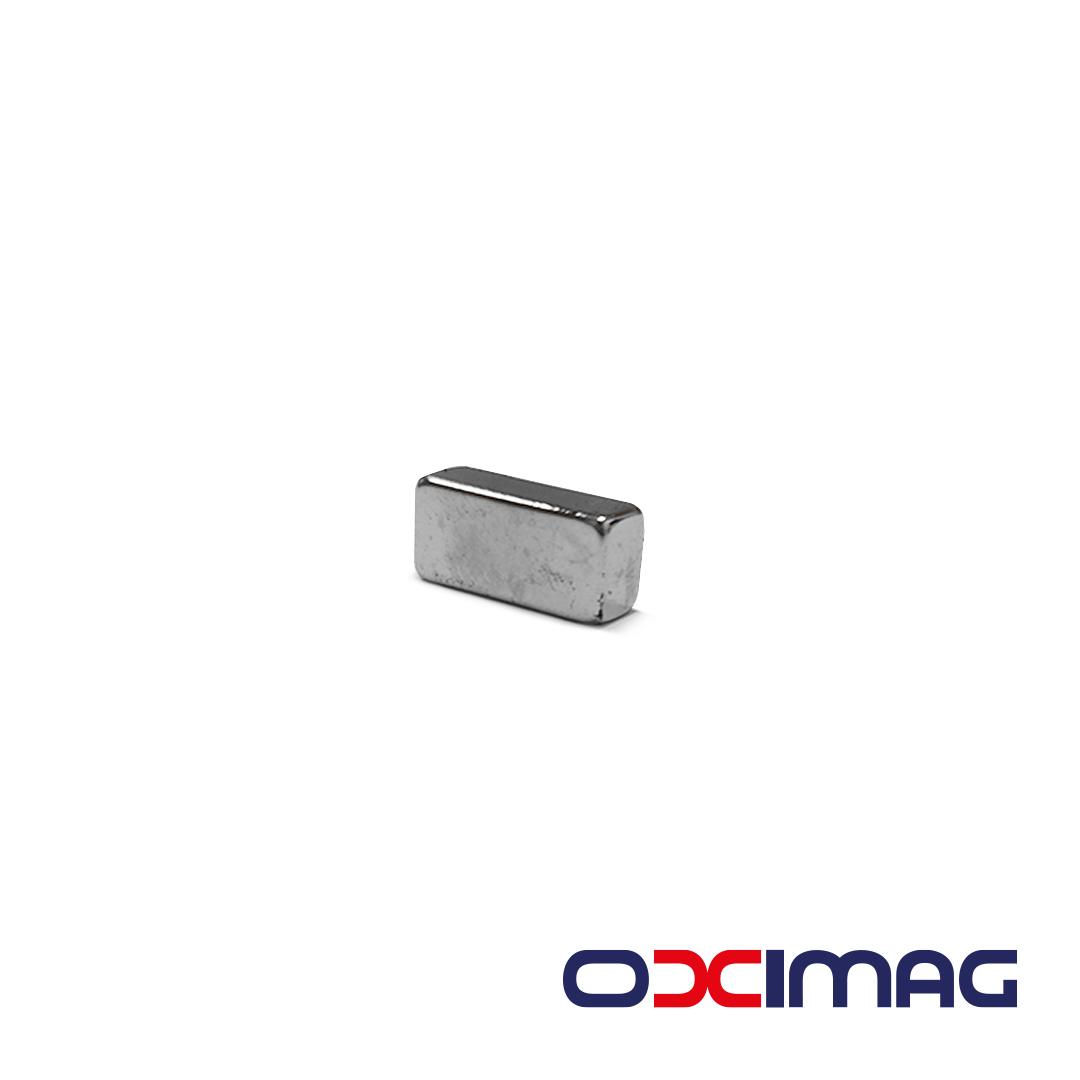 Ímã de Neodímio Bloco - 15 X 7 X 5 mm - N35