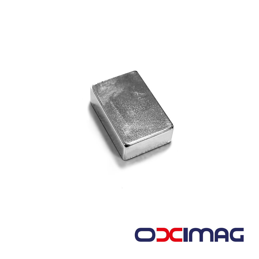 Ímã de Neodímio Bloco - 19 X 12,5 X 6,35 mm - N35