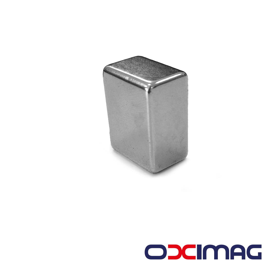 Ímã de Neodímio Bloco - 19 X 15 X 10 mm - N35