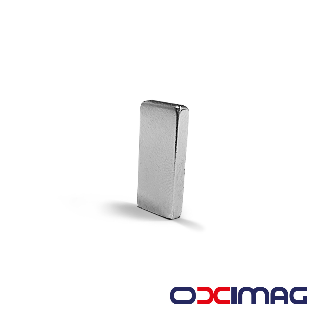 Ímã de Neodímio Bloco - 20 x 10 x 3 mm - N52